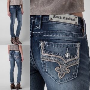 """Rock Revival Low Straight Jeans 34"""" L NO OFFERS"""